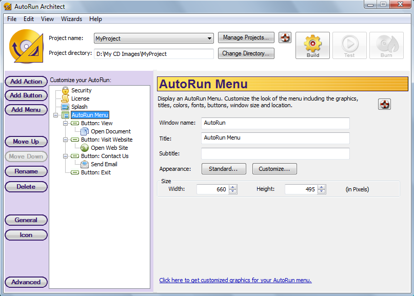 autoplay menu builder templates - special autorun cd builder downloads page 1